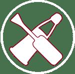 outils utilisés pour les tableaux et laques